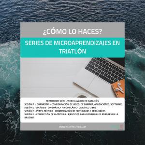 Serie de Microaprendizajes – Video análisis de la técnica de natación